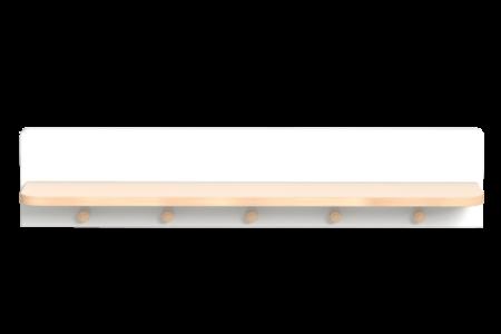 Colette fehér falipolc
