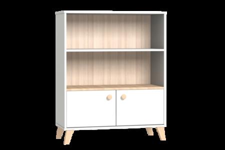 Colette fehér széles nyitott tároló