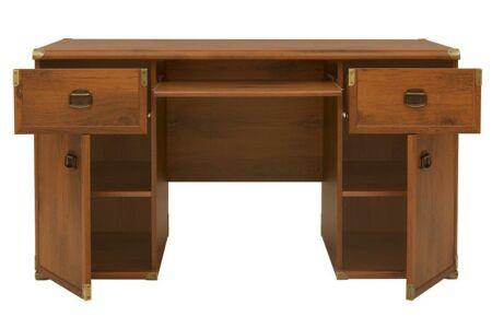 Indiana íróasztal nagy, sutter tölgy színben (JBIU2D2S)