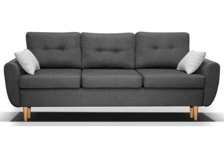 Calazzo kanapé sötétszürke szövettel