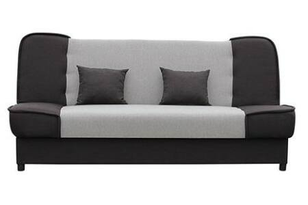 Mercato kattanós kanapé, világos - sötétbarna