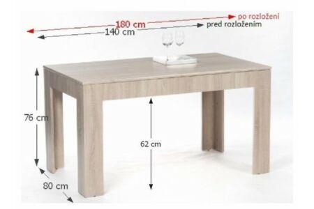 Admiral étkezőasztal