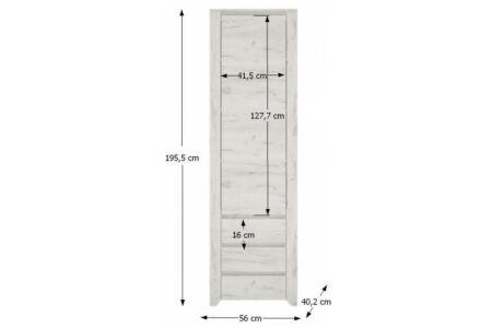 Angel polcos szekrény (Typ10)