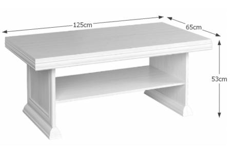 Kora dohányzóasztal (KL2)