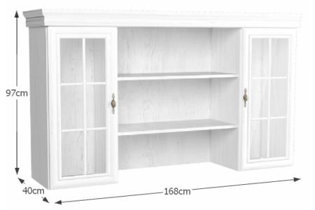 Kora széles felső rátét szekrény (KN5)