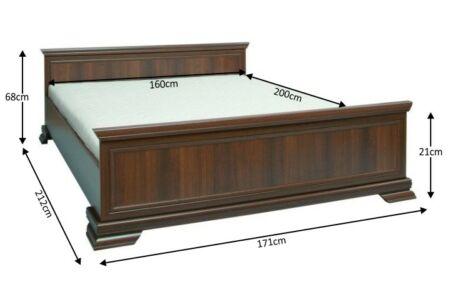 Kora ágykeret 160 (samoa king)