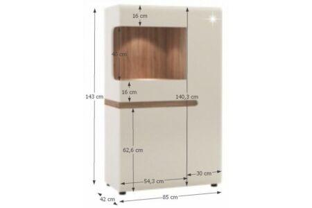 Lynatet alacsony vitrin (Typ32)