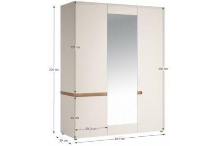 Lynatet szekrény (3D)