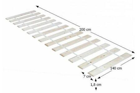 Plaza ágyrács (140*200)