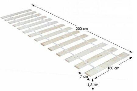 Plaza ágyrács (160*200)