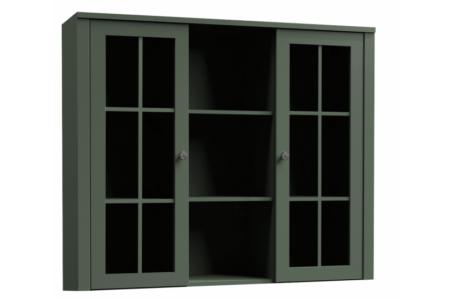 Provance vitrines rátét szekrény
