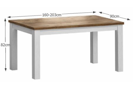 Provance étkezőasztal (STD)