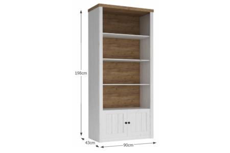Provance nyitott polcos szekrény (R1) andersen