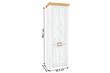Sudbury polcos szekrény (V)