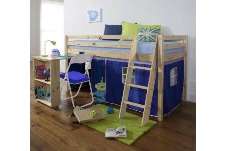 Alzena magasított ágy (kék)