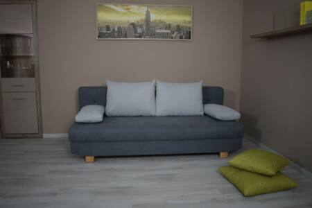 Díva kanapé (szürke)