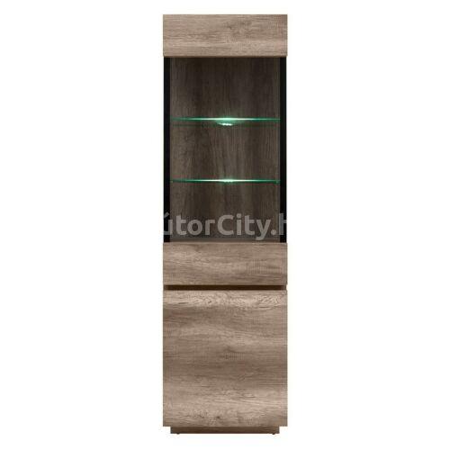 Andalusia vitrines szekrény (REG1W1D/60)