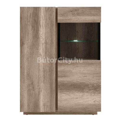 Andalusia vitrines komód (REG1W1D/100)