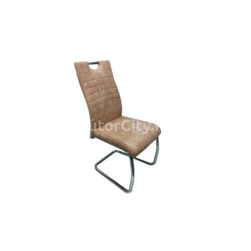 Koptatott bézs szék