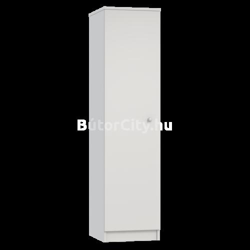 Mia fehér keskeny tároló (minta nélkül)