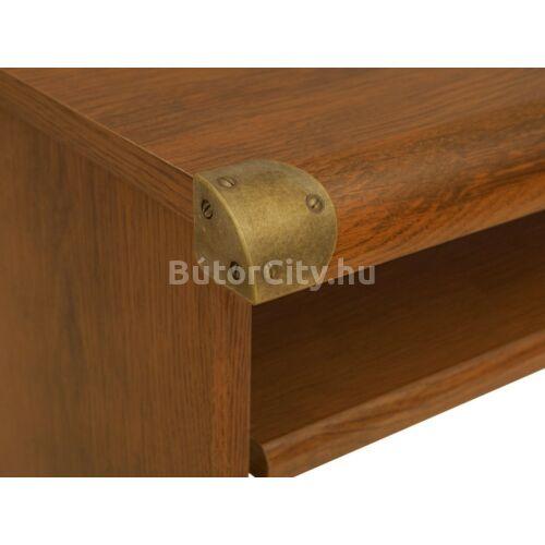 Indiana íróasztal, sutter tölgy színben (JBIU2S)