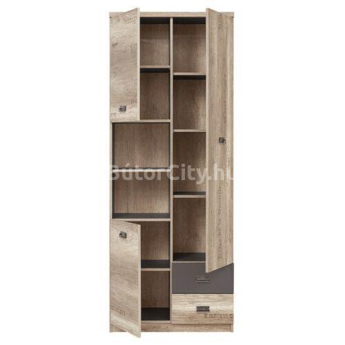 Modena polcos szekrény (REG3D2S)