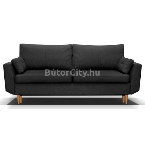 Bernarda kanapé sötétszürke színben