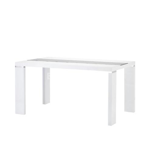 Paola étkezőasztal fehér színben
