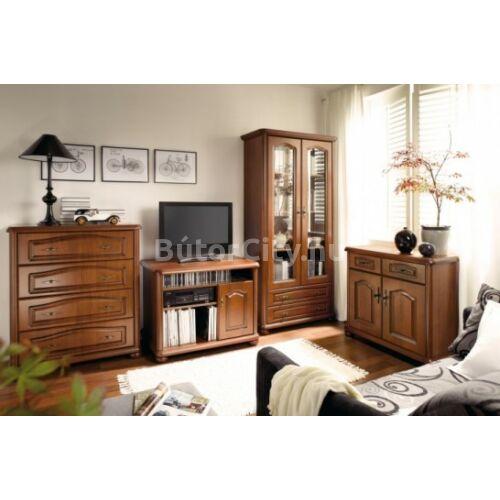 Novara nagy vitrines rátét szekrény (NAD150)