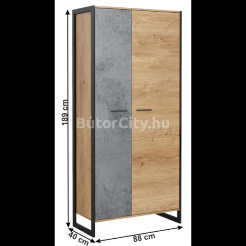 Eisen kétajtós szekrény