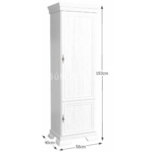 Kora zárt polcos szekrény (KRD1)