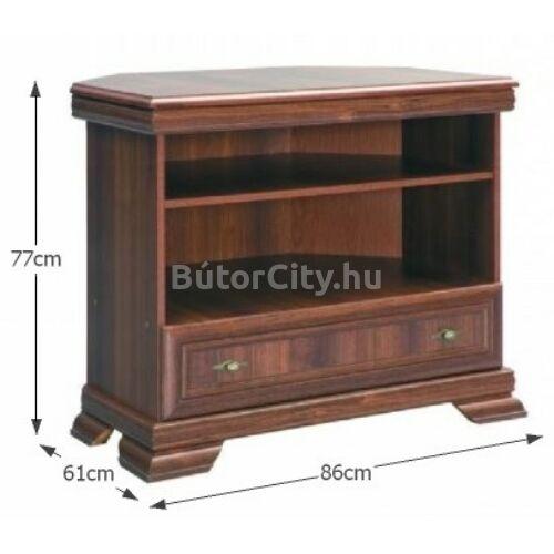 Kora sarok TV szekrény (KRTN)