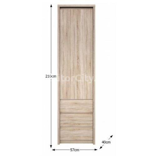 Norty polcos szekrény (1D3S)