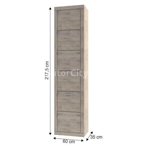 Orestes polcos szekrény (1D)