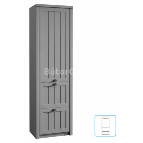 Provance akasztós szekrény (S1D2S) szürke