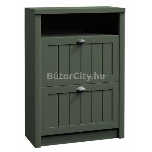 Provance cipős szekrény (SNB) zöld
