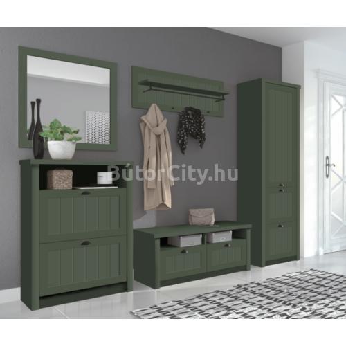 Provance akasztós szekrény (S1D2S) zöld