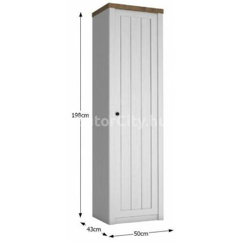 Provance polcos szekrény (S1D)
