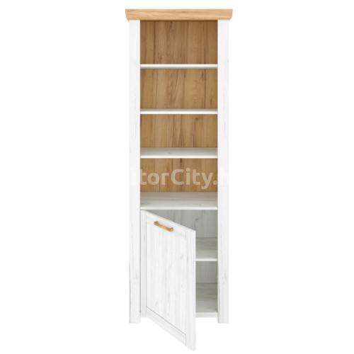 Sudbury nyitott polcos szekrény