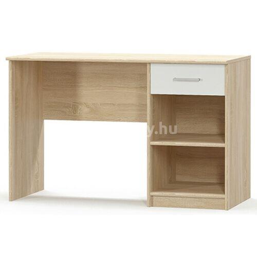 Teyo íróasztal, sonoma tölgy - fehér