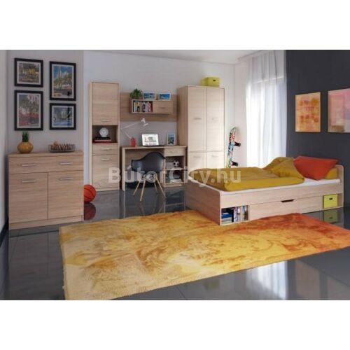 Teyo íróasztal, sonoma tölgy színben