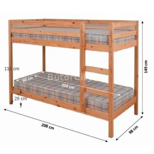 Verso emeletes ágy