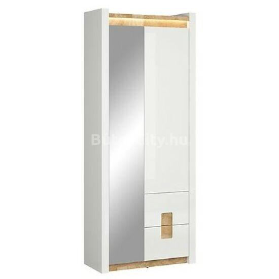Alameda tükrös előszobai szekrény ( REG1D1M2S)
