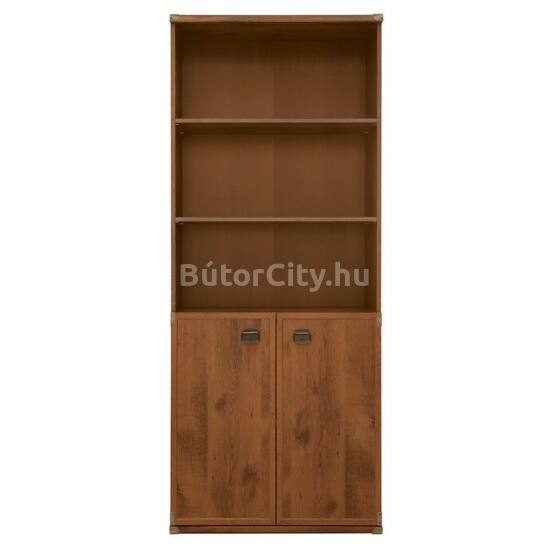 Indiana könyves szekrény sutter tölgy színben (JREG2DO)