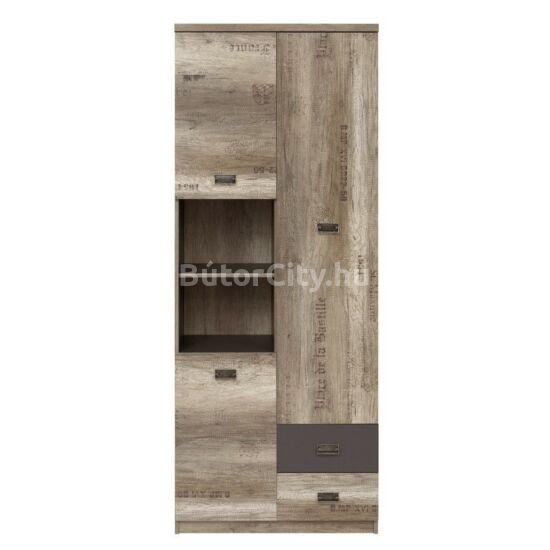 Malcolm polcos szekrény (REG3D2S)