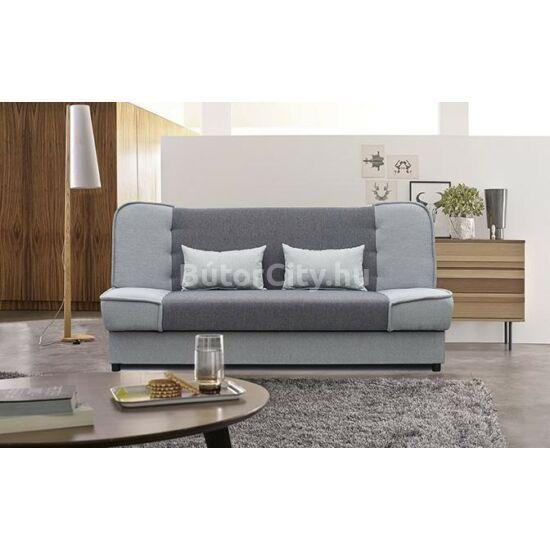 Milán kattanós kanapé, szürke