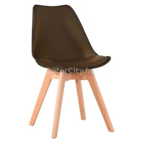 Bali 2 new szék sötétbarna színben