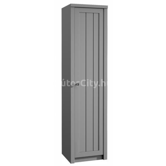 Provance polcos szekrény (S1D) szürke