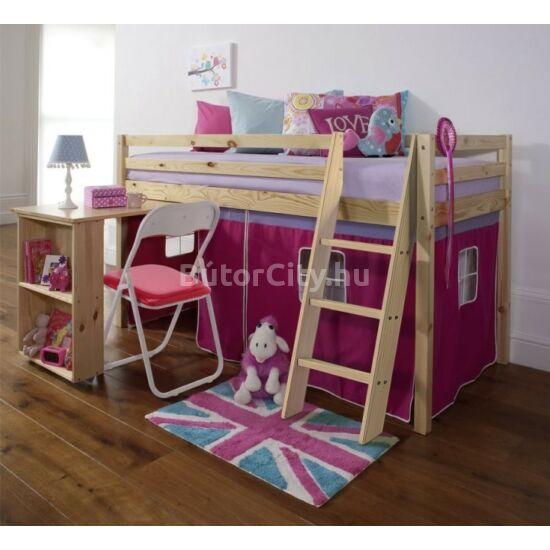 Alzena magasított ágy (rózsaszín)