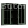 Kép 1/4 - Provance vitrines rátét szekrény (W2D) zöld